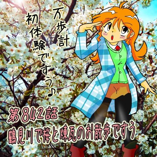 第842話・夕実ちゃん・鶴見川・桜・山本煉瓦ほか2.jpg